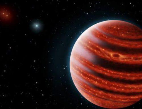 Jonge versie van Jupiter ontdekt